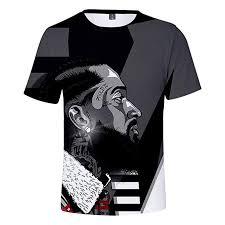 Mens And Womens Shirt Size Chart Amazon Com Nipsey Hussle T Shirt Hip Hop Mens Womens Kids