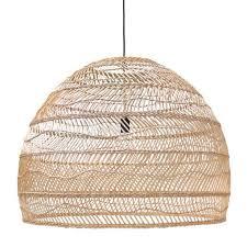 rattan pendant lighting. hk living wicker pendant large 80cm pre order rattan lighting l