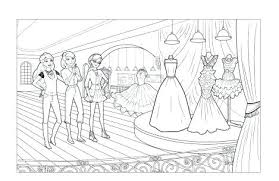 Coloring Pages Barbie Fashion Fairytale Barbie Fashion Coloring