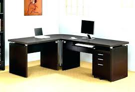 t shaped office desk. L Shaped Office Desk T