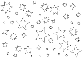 Small Picture Stars Coloring Page Free Printable Star Coloring Pages For Kids