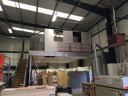 mezzanine office. Formwise Bathrooms Project - A Retrospective Mezzanine Fit Out By Cubex Contracts Northants Office E