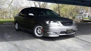 2005 Toyota Corolla S Drag racing - YouTube