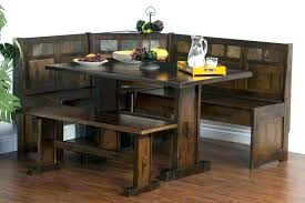 corner breakfast nook table set 1 bench seating ideas in natural chelsea dining linon kitchen