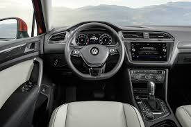 new volkswagen 2018.  volkswagen 2018 vw tiguan dash view with steering wheel and infotainment system and new volkswagen