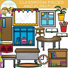 classroom chairs clipart. Beautiful Clipart Classroom Pieces And Furniture Clip Art   To Chairs Clipart