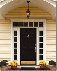 black front door with sidelightsWood Front Door With Sidelights Beautiful Winsome Design Exterior
