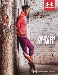 under armour women. also as part of the campaign, under armour will be showing its support for breast health through local power in pink initiative, where 10% sales women