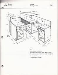 An arrangement ex le of a bank teller station from a 1975 st charles manufacturing co technical guide note the safe cabi