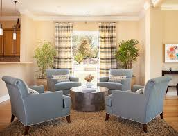 traditional furniture living room. Traditional Furniture Living Room. Four Chairs Room With Coffee Table Plaid Curtain Panel .