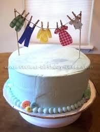Baby Boy Cake Designs Cool Design Homemade Baby Shower Cakes Cake