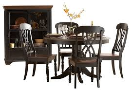 homelegance ohana 6 piece round dining table set traditional dining sets by warehouse direct usa
