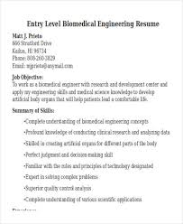 Biomedical Engineering Manager Sample Resume Cool 44 Engineering Resume Samples PDF DOC Free Premium Templates