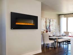 napoleon 50 in wall mount electric fireplace nefl50b