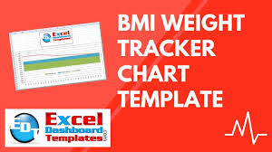 Bmi Weight Tracker Chart Excel Template Free Download Tutorial