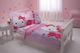 Lovely Hello Kitty Bedding Sets Home Designing Kid Sheet And Friends Toddler Set Child Duvet Size