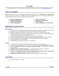 Summary Of Qualifications Resume Sample