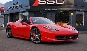 This is a flawless ferrari that is always covered & garaged in a clime it is very highly optioned with an original msrp of $339,125 including the options listed below: Ferrari 458 Spider For Sale Jamesedition
