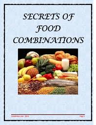 The Hay Diet Food Combining Chart Secrets Of Food Combinations