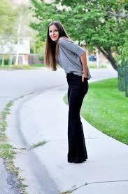 diy tutorial women fashion diy oversized pants into bell bottoms beadcord