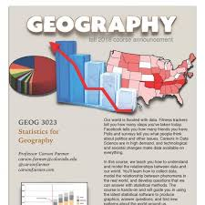 how many flyers should i put in a university course posters for fall 2018 geography university of colorado