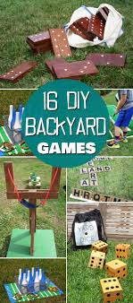 Diy Outdoor Games Best 25 Diy Games Ideas On Pinterest Crafty Games Garden Games