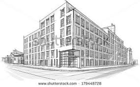 architecture building drawing. Architecture Building Drawing Coloring Pages Of The Buildings In Future Community Page