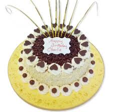 Party Cake With Butter Icing Delivered In London
