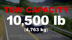 2014 Toyota Tundra: Towing and Hauling | Toyota on Front - YouTube