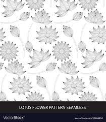 Lotus Pattern Simple Design Inspiration