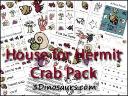 Small Picture Free House for Hermit Crab Pack 3 Dinosaurs