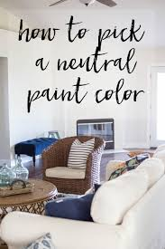 Neutral Paint Colors - The Best Paint to Cover Dark Walls