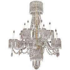 elegant antique baccarat crystal chandelier