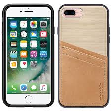 apple iphone 7 plus gold. nillkin classy leather card slot case - apple iphone 7 plus gold iphone