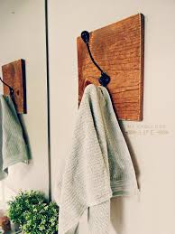 Towel Hook Bathroom Diy Towel Rack My Fabuless Life