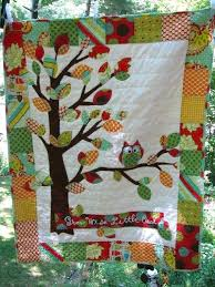 Baby Quilts With Owls – co-nnect.me & ... Baby Quilt Tutorial Vibrant And Unisex Owl Quilt By Barabooboo Flynn  Tripp Www Free Baby Quilt ... Adamdwight.com