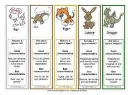Chinese Zodiac Years Chart Printable Chinese Zodiac Animal