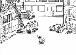 Small Picture Coloring Pages Fire Truck Coloring Pages Fireman Colouring