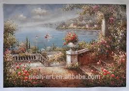 beautiful oil painting garden scene painting oil painting garden scene painting garden beautiful landscape oil painting natural art painting
