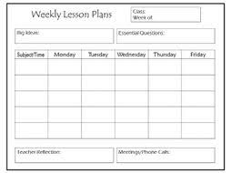 Weekly Lesson Plan Templates Daily And Weekly Lesson Plan Templates By Thebloomingmind2
