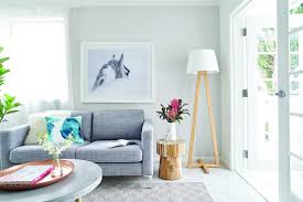 types of living room furniture. Coastal Living Room With Soft Grey Sofa And Sheer Curtains Types Of Furniture N