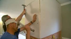 how to hang sheet rock how to hang drywall on a brick wall todays homeowner