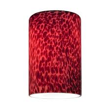 design classic lighting. cylinder glass shade with red art lipless 158inch fitter design classic lighting i