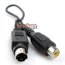 usd$1 00 s video 4pin 4 pin male to rca female adapter converter RCA Jack Connector Diagram at S Video To Rca Wiring Diagram