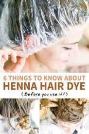 using henna hair dye