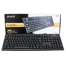 <b>A4Tech KR</b>-<b>85</b> Comfort Roundege Keyboard <b>USB</b>/<b>Black</b>/US Layout ...