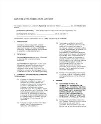 Confidentiality Agreement Sample Non Disclosure Download Free ...