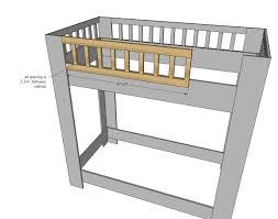Plans For A Loft Bed Bunk Beds Diy Loft Bed Designs Homemade Toddler Bed Plans To