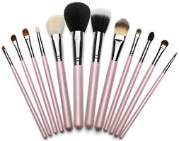 make up brush set steps to conceal your acne