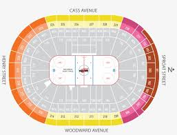 Detroit Little Caesars Arena Seating Chart Season Ticket Plans Little Caesars Arena Detroit Red